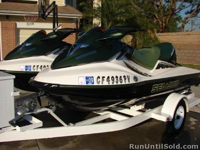 Sea-Doo-2 each 2002 GTX DI Bombardier