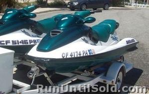 1997 Seadoo Gtx >> 2 1997 Seadoo Gtx 3 Seaters And Trailer 5900 00